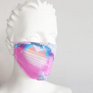 mixer zaščitna maska potiskana